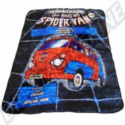 """Couverture douce et chaude 150x200cm """"Combi Spider Van"""""""