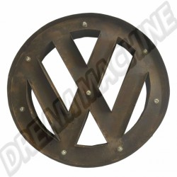 Logo vw metal déco murale a led 42 cm