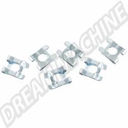 Clips  pour tringle de connexion régulateur d'air frais (6 pièces) N236231