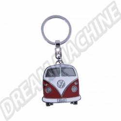 Porte clés Combi rouge avec sa boite en métal