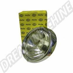 Phare HELLA cerclage 3 vis pour ampoule H4