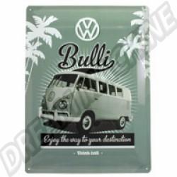 Plaque métal Bulli