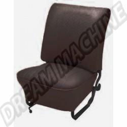Housses de siège av + ar  vinyl noir cabriolet 74-->76 sans appuie tête