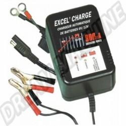 Chargeur de batterie 6-12 volts avec fonction maintien de charge dm 40150 | Dream-Machine.fr