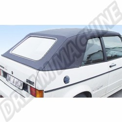 Capote Vinyle Noir pour Golf 1 Cabriolet  1979 ->1993 | dream-machine.fr