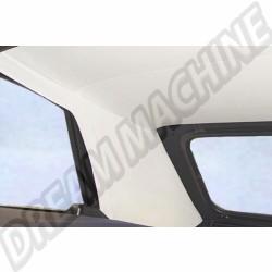 Ciel de toit en vinyl blanc ou noir qualité supérieure pour Golf 1 Cabriolet 85-93  | dream-machine.fr