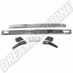 Kit pare-chocs chromés de qualité supérieure Golf 1 74-->79  WC898001UKC | Dream-machine.fr