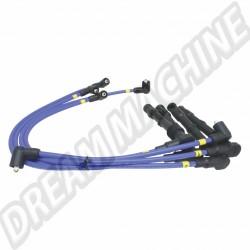 Fils de bougies qualité compétition 8mm Magnecor de couleur bleue pour moteur 1800cc 16 soupapes   DM998M40486 Dream machine