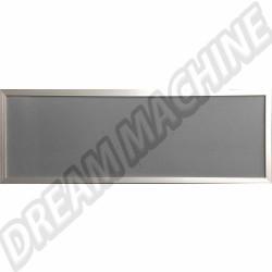 Moustiquaire avec contour alu pour vitre jalousie + 2 clips T2 68-79