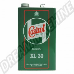 Castrol Classic huile XL30 le bidon de 5L | Dream-Machine.fr