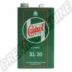 Castrol Classic huile XL30 le bidon de 5L | Dream-Machine.fr