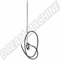 Antenne 1 point chrome tous modles