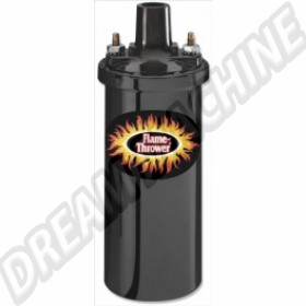 Bobine Pertronix noire Flame-Thrower 12V 40.000 Volts 3 Ohms