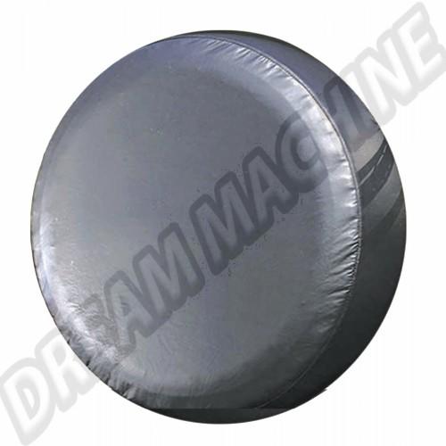 Housse de roue de secours vinyl noir Combi 00-4222-0 Sur www.dream-machine.fr