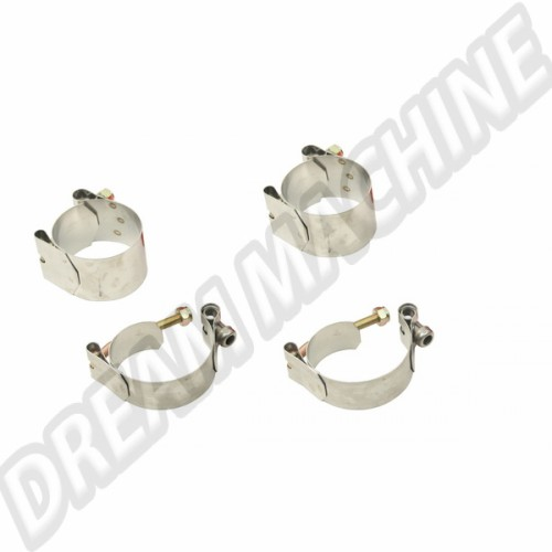 Kit 4 colliers inox pour barre stabilisatrice (rotules ou pivots) 00-9692-0 Sur www.dream-machine.fr