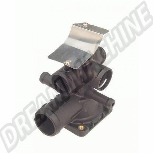 Bas de carter de thermostat Transporter 1.9L 85-->92 025121115A Sur www.dream-machine.fr
