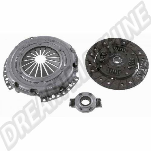 Kit embrayage 215 mm pour VW Transporter T25 1600 Turbo-Diesel & 1700 Diesel  068198141TD Sur www.dream-machine.fr