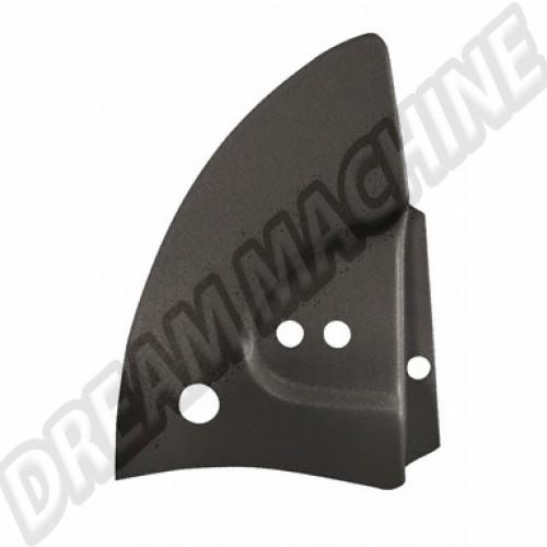 Cache armature de capote plastique noir cabriolet 68--->>79. la paire 151198LRBK Sur www.dream-machine.fr