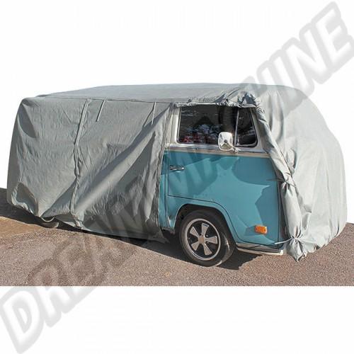 Housse de protection pour Combi split. Bay window et Transporter avec ouvertures DM0227 Sur www.dream-machine.fr