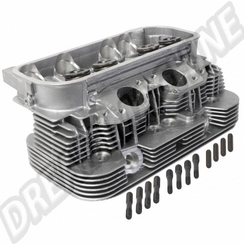 Culasse neuve complète moteur Type 4 2L 39.3x33 sortie échappement rectangulaire 071101061X Sur www.dream-machine.fr