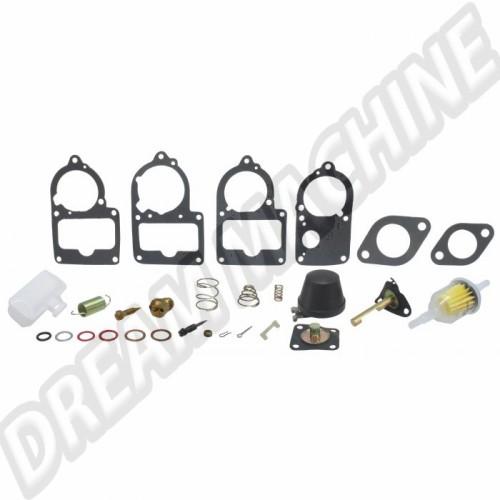 Kit réparation carbu Solex 28/30/31/34 pict complète  111198569ZC Sur www.dream-machine.fr