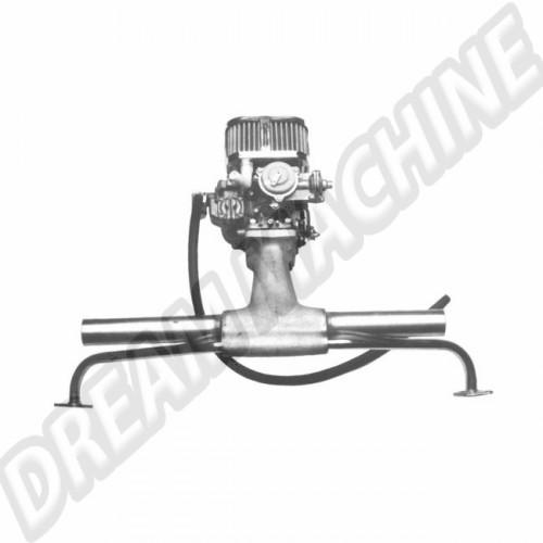 Kit carbu Weber progressif pour moteur type 1 DM042318 Sur www.dream-machine.fr