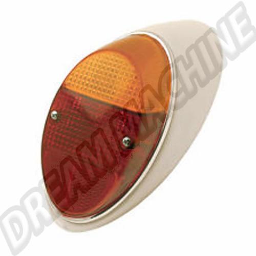 feu arrière gauche complet 8/61-7/67 et 1200 -7/73 europe (sans marquage CE) 111945095M Sur www.dream-machine.fr
