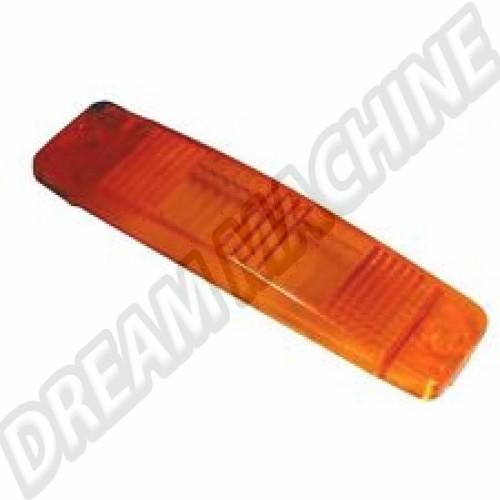 Cabochon de clignotant (sur pare-chocs) orange. l'unité 111953141 Sur www.dream-machine.fr