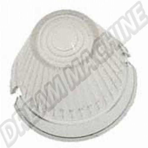 Cabochon de clignotant transparent modèle obus 111953161 Sur www.dream-machine.fr