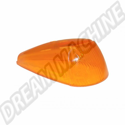 Cabochon de clignotant orange 63--->. l'unité 111953161J Sur www.dream-machine.fr