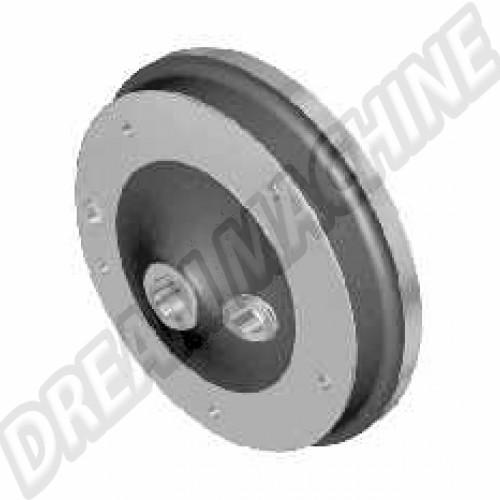 Tambour de frein avant 5 x 205 mm (la pièce) de 10/1957->7/1965 113405615A Sur www.dream-machine.fr