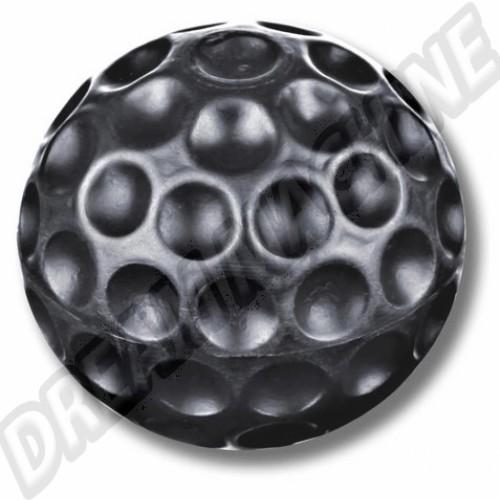"""Pommeau noir en caoutchouc """"balle de golf"""" 113711141DNOT Sur www.dream-machine.fr"""