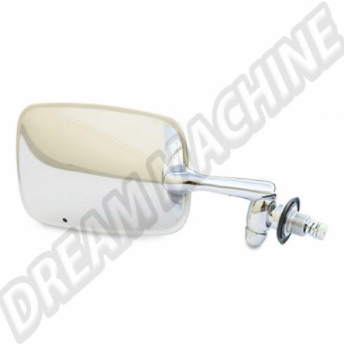 Retroviseur droit inox t1 de 68---->> 113857514DI Sur www.dream-machine.fr