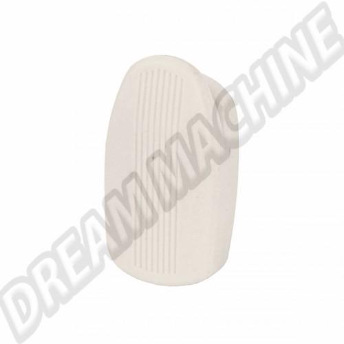 Crochet pour poignée de maintien intérieur blanche 8/67-> l'unité 113857637B581 Sur www.dream-machine.fr