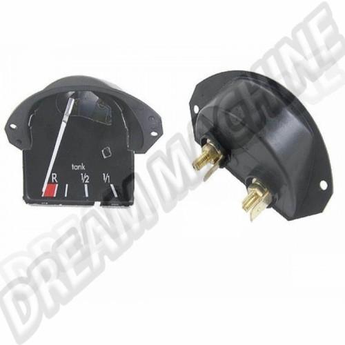 Cadran jauge à essence 12V pour Coccinelle 113957063B Sur www.dream-machine.fr