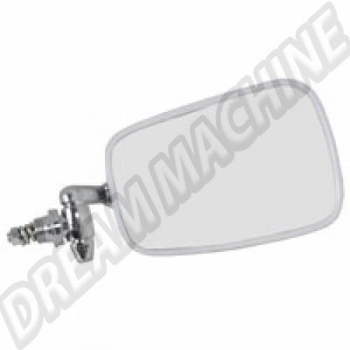 Rétroviseur Droit 68---->> avec contour en plastique blanc 114857513C Sur www.dream-machine.fr