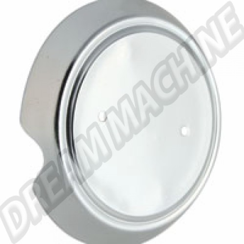 Embase chromée pour sigle de capot avant Karmann Ghia 56-74 141853613 Sur www.dream-machine.fr