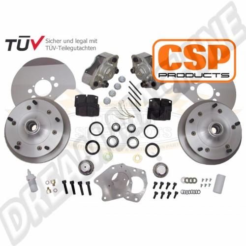 Kit freins à disques avant CSP 5x205 modèles 68--> 4991685205 Sur www.dream-machine.fr
