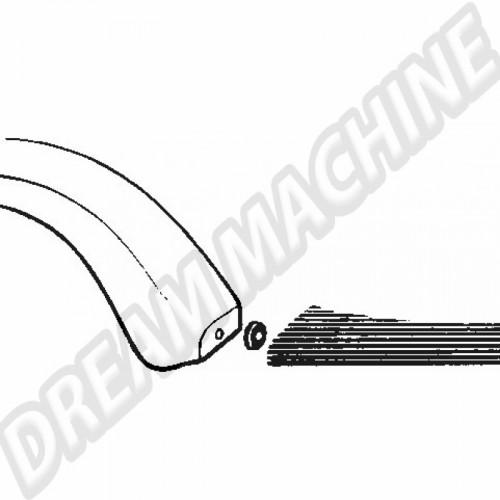 Joint de séparation de marche pied/aile les 4 111821545 Sur www.dream-machine.fr