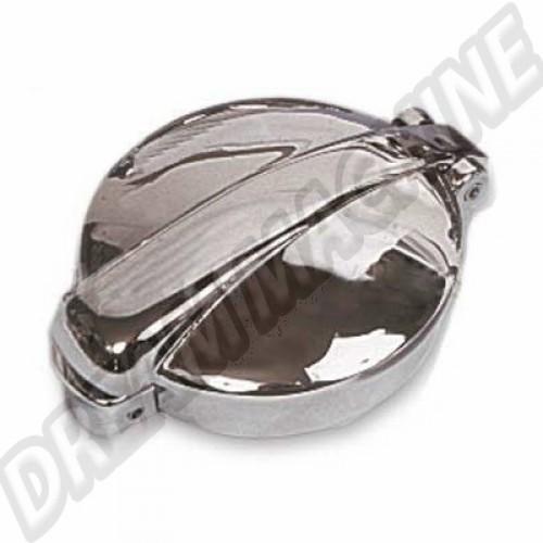 Bouchon de réservoir Buggy acier inoxydable  Finition: Chrome B1560 Sur www.dream-machine.fr