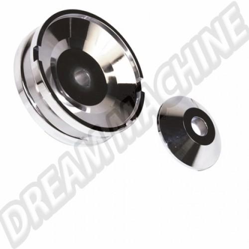 Poulie de dynamo Billet Style.aluminium poli 16-9707-0 Sur www.dream-machine.fr