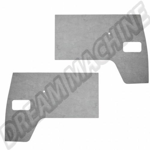 Panneaux de porte avant en plastique gris avec découpe vide poche T2 50-->02/61 211867106 Sur www.dream-machine.fr