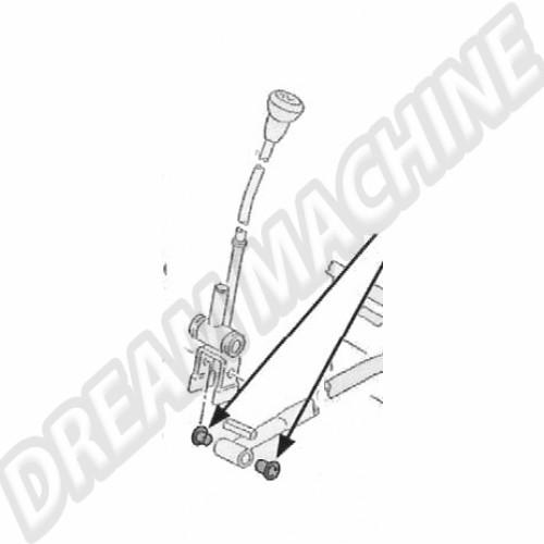 Bague de levier de vitesse pour boite 5 vitesses Transporter 171711166 Sur www.dream-machine.fr