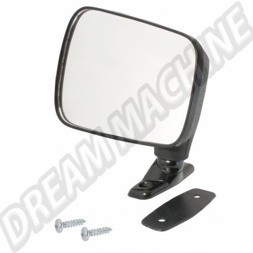 Rétroviseur gauche noir non réglable pour Golf 1 171857501 Sur www.dream-machine.fr