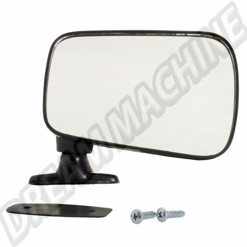 Rétroviseur droit noir non réglable pour Golf 1 171857502D Sur www.dream-machine.fr