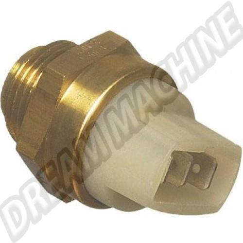 Contacteur de ventilateur sur radiateur d'eau 2 broches T25 81-->82 191959481B Sur www.dream-machine.fr