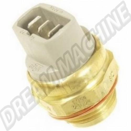 Contacteur de ventilateur sur radiateur d'eau 3 broches T25 82-->7/84  95-84°C / 102-91°C 191959481C Sur www.dream-machine.fr