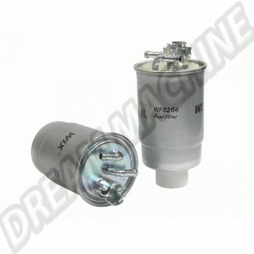 Filtre à gazoil pour golf 1  Transporteur T25 et T4 191127401B ou 1H0127401C Sur www.dream-machine.fr