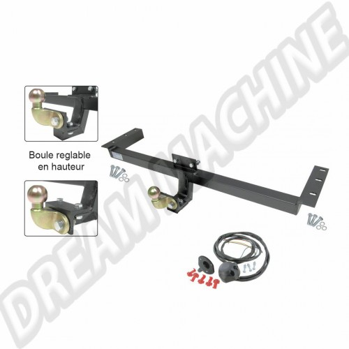 Attelage combi Type 2  T2B 72-->79  homologue EU  kit complet  211781123 Sur www.dream-machine.fr