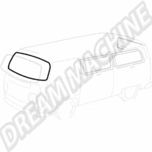 Joint de pare-brise avec emplacement pour moulure pour Combi de 68 à 79 211845121DT Sur www.dream-machine.fr